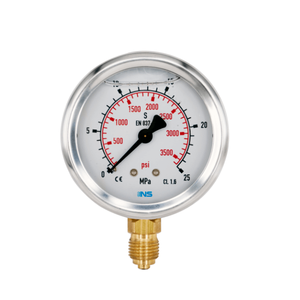 Bourdon Tube Oil Fuel Gas Water Pressure Gauge